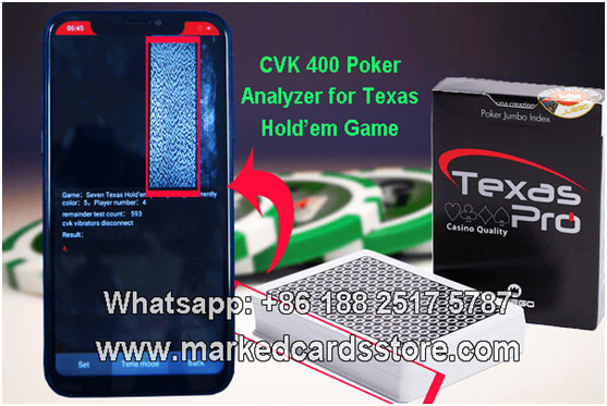 gambling cheating device for barcode marked cards
